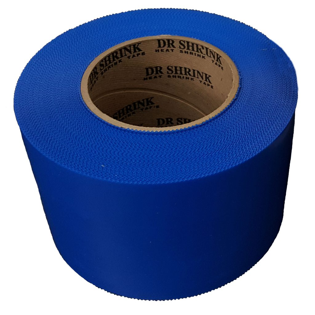 Dr Shrink DS-704WP 4 in Pinked Edge Heat Shrink Tape x 180 ft White